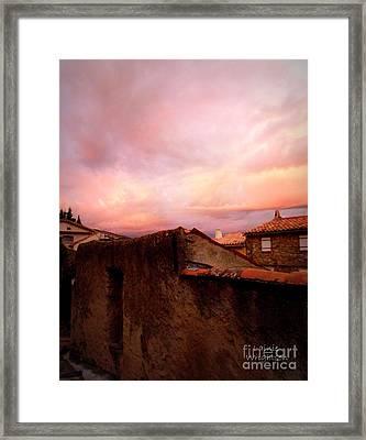 Sky Drama Framed Print by Lainie Wrightson