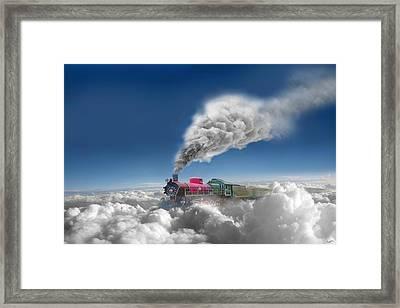 Sky Express Framed Print by Igor Zenin