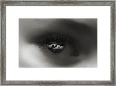 Sky Eye Framed Print by Kristie  Bonnewell