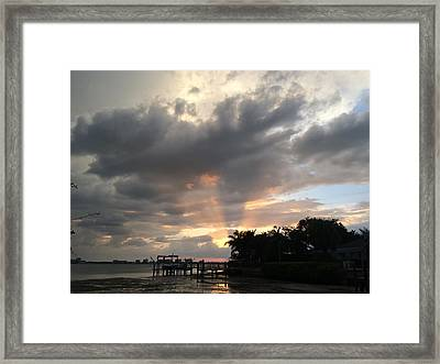 Sky Eyes 1 Framed Print