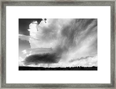 Sky Falls Down Framed Print