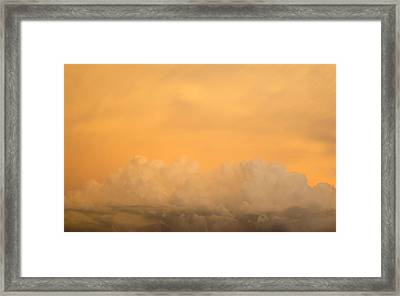 Sky Fire 004 Framed Print by Tony Grider