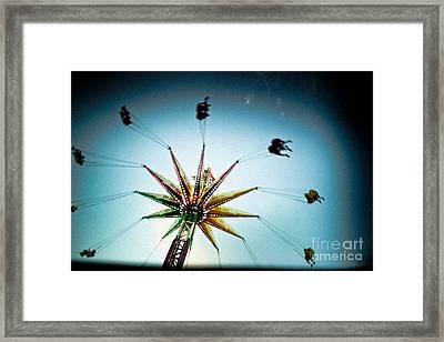 Sky Flyer Framed Print
