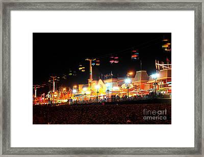 Sky Glider @ Night Framed Print