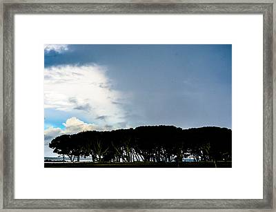 Sky Half Full Framed Print