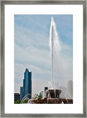 Sky High Framed Print by Lawrence Boothby