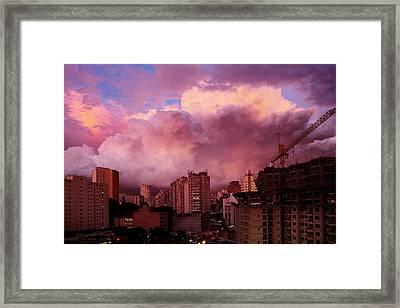 Sky II Framed Print by Felipe Djanikian