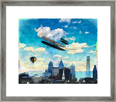 Sky Is The Limit Framed Print by Bill Cannon