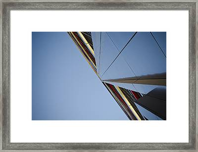 Sky Is The Limit Framed Print by Pablo Lopez