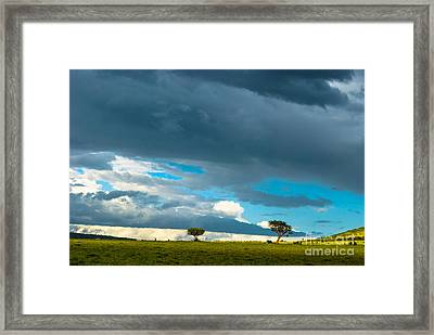 Sky Is The Limit Framed Print by Syed Aqueel
