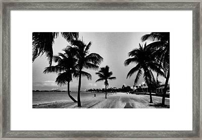 Sky Juice Framed Print