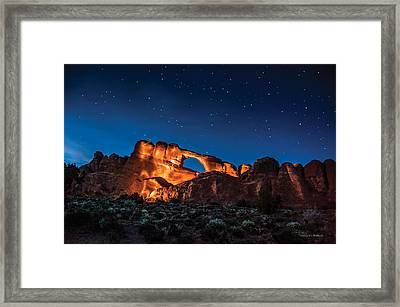 Sky Line Light Framed Print