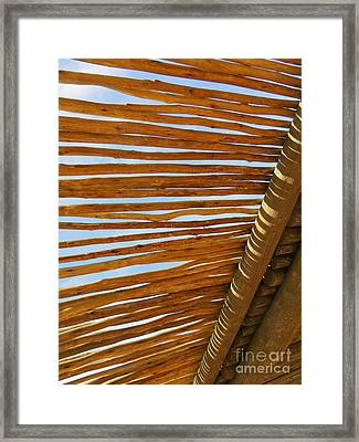 Sky-lined  Framed Print by Joy Hardee