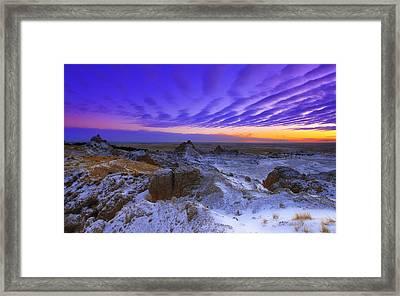 Sky Lines Framed Print by Kadek Susanto