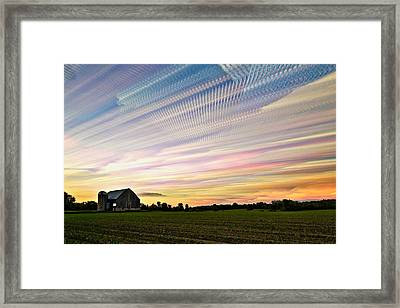 Sky Matrix Framed Print by Matt Molloy