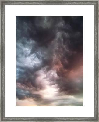 Sky Moods Framed Print