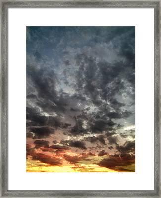 Sky Moods - Spectrum Framed Print by Glenn McCarthy
