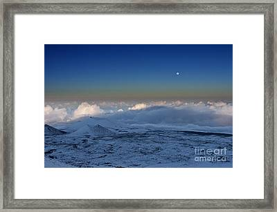 Sky Moon Framed Print by Karl Voss