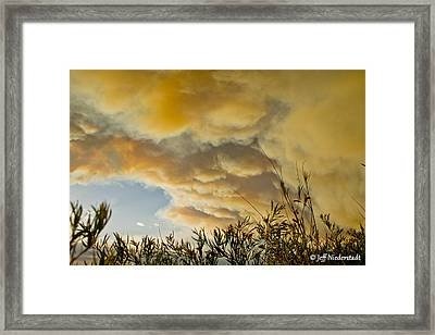 Sky Of Smoke Framed Print