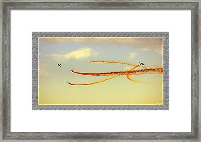 Framed Print featuring the photograph Sky Painters by Thomas Bomstad
