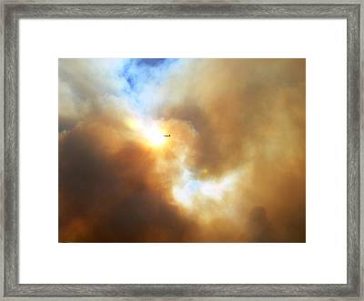 Sky Pilot Framed Print by Steve Brown