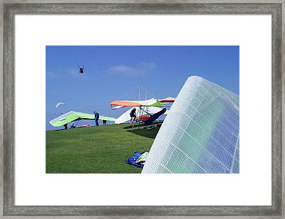 Framed Print featuring the photograph Sky Pilots by Don Olea