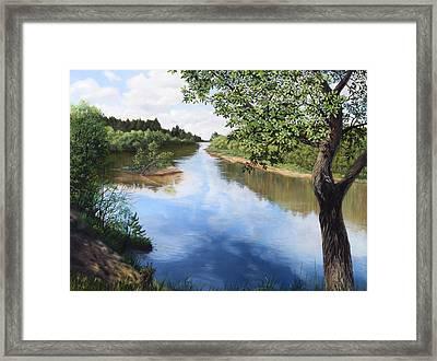 Sky Reflection Framed Print