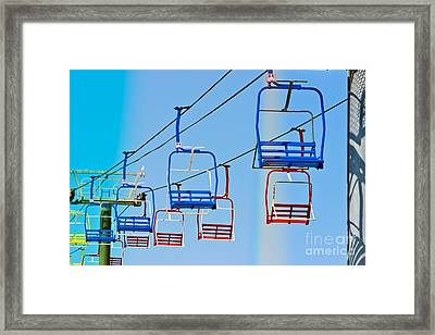 Sky Ride #34 Framed Print by Colleen Kammerer