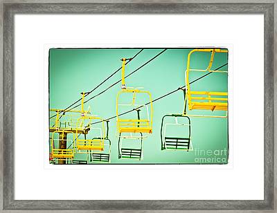 Sky Ride #41 Framed Print by Colleen Kammerer