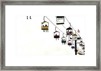 Sky Ride Framed Print