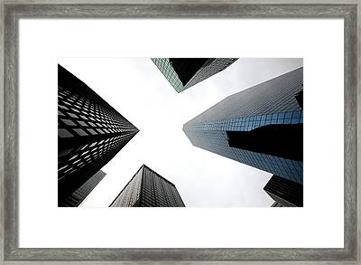 Sky Riders Framed Print by Gilberto Gutierrez