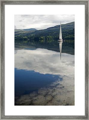 Sky Sailing Framed Print