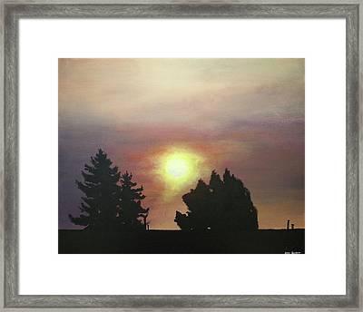 Sky-scape 4 Framed Print by Kim Cyprian