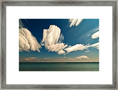 Sky Sculptures Framed Print