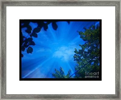 Sky Framed Print by Sky Skier