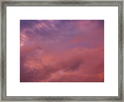 Framed Print featuring the photograph Sky Song by Laurie Stewart