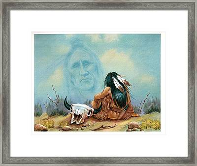 Sky Spirit Framed Print by Richard Hinger