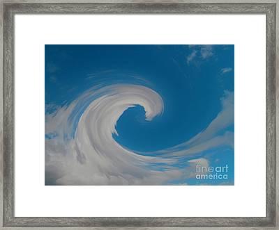 Sky Surfing Framed Print by Drew Shourd