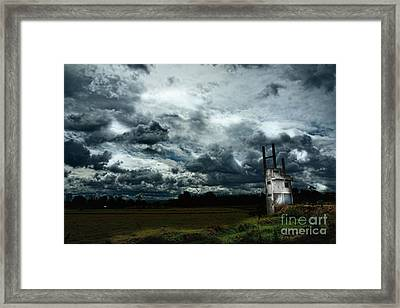 Sky  Framed Print by Thammasak Kanjananul