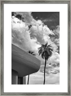 Sky-ward Palm Springs Framed Print by William Dey