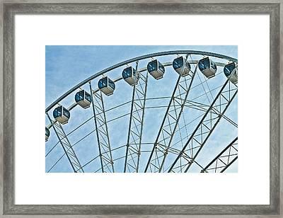 Sky Wheel  Framed Print