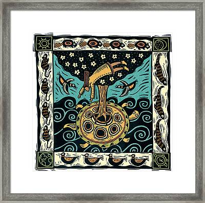 Sky Woman Framed Print by Sue Todd