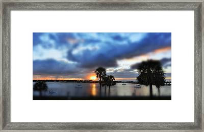 Skyburn Framed Print