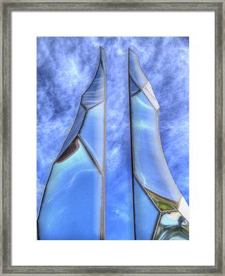 Skycicle Framed Print