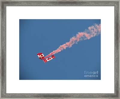 Skydivers #01 Framed Print