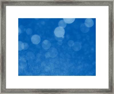 Skydrops Framed Print by Wendy J St Christopher