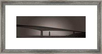 Skye Bridge Framed Print by Sergey Simanovsky