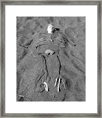 Skye Skeleton Framed Print