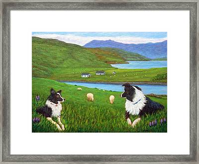 Skye Watch Framed Print