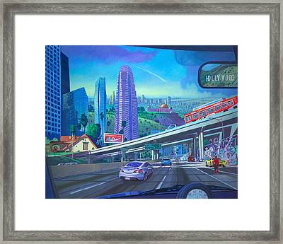 Skyfall Double Vision Framed Print by Art James West